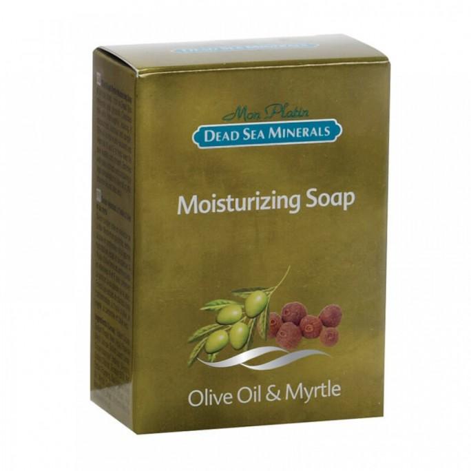 סבון לחות שמן זית והדס עשיר במינרלים
