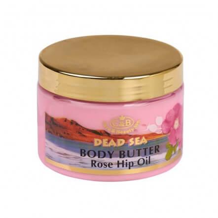 חמאת גוף ורדים -רוז היפ