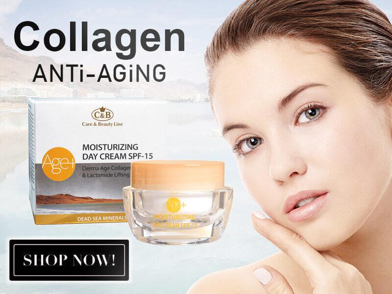 קרם קולוגן למניעת הזדקנות העור